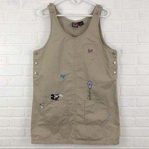 Vintage Disney Mickey jumper overall dress